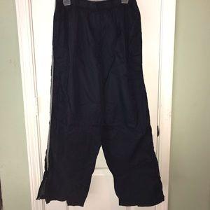 Men's Navy Colored Windpants medium